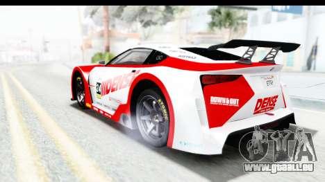GTA 5 Emperor ETR1 v2 SA Lights für GTA San Andreas Unteransicht