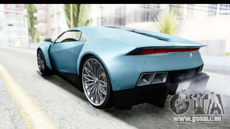 GTA 5 Pegassi Reaper v2 SA Lights für GTA San Andreas linke Ansicht