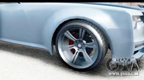 GTA 5 Enus Windsor Drop IVF für GTA San Andreas Rückansicht