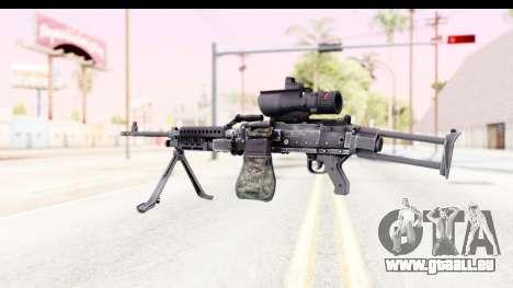 M240 FSK pour GTA San Andreas deuxième écran
