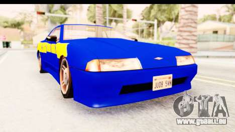 NFSU2 Tutorial Skyline Paintjob for Elegy für GTA San Andreas
