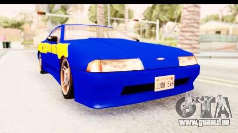 NFSU2 Tutorial Skyline Paintjob for Elegy pour GTA San Andreas