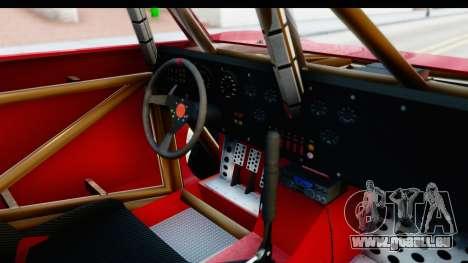 GTA 5 Trophy Truck SA Lights pour GTA San Andreas vue intérieure