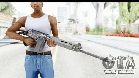 FN-FAL für GTA San Andreas dritten Screenshot