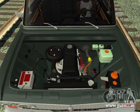 VAZ 2103 arménien pour GTA San Andreas laissé vue
