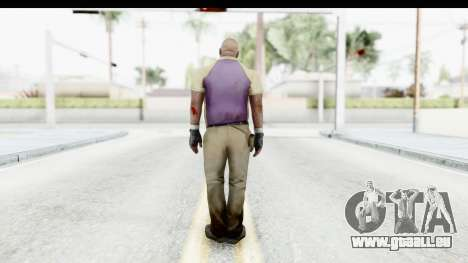 Left 4 Dead 2 - Coach für GTA San Andreas dritten Screenshot