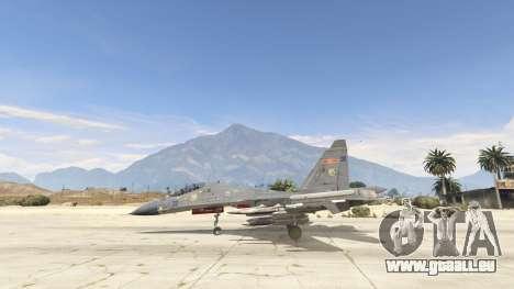 GTA 5 Su-30МКК HQ Chinesisch zweite Screenshot