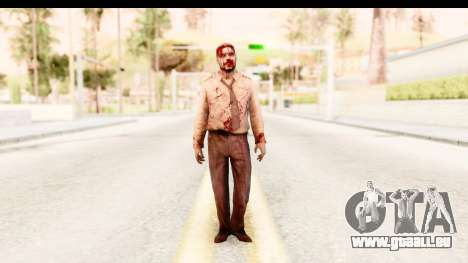 Left 4 Dead 2 - Zombie Pilot pour GTA San Andreas deuxième écran