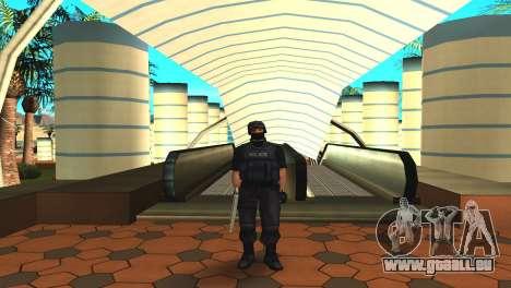 Modifizierte original SWAT skin für GTA San Andreas