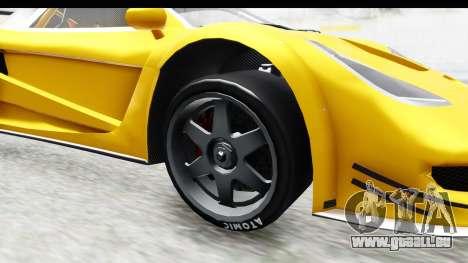 GTA 5 Progen Tyrus IVF für GTA San Andreas Rückansicht