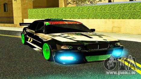 BMW 750 E38 Hamann Turbo Sports für GTA San Andreas