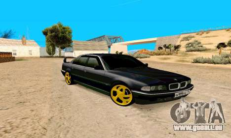 BMW 730 pour GTA San Andreas
