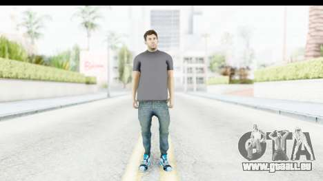 Lionel Messi Casual für GTA San Andreas zweiten Screenshot
