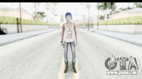 Life is Strange Episode 3 - Chloe Shirt für GTA San Andreas zweiten Screenshot
