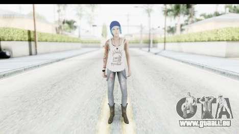 Life is Strange Episode 3 - Chloe Shirt für GTA San Andreas zweiten Screenshot