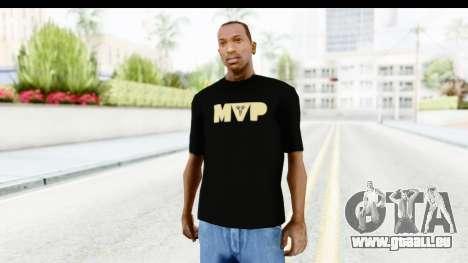 Nike MVP T-Shirt pour GTA San Andreas deuxième écran