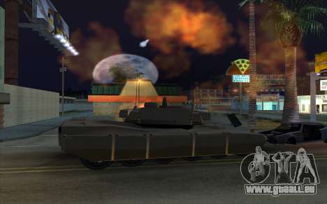 L'effet de la mise à feu de réservoir pour GTA San Andreas quatrième écran