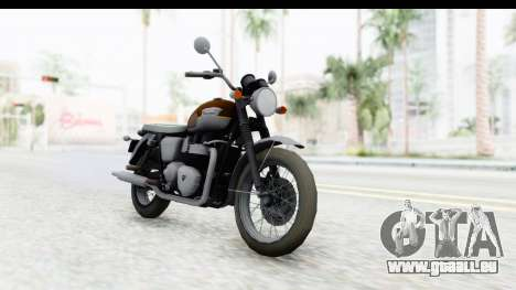 Metal Gear Solid V Phantom Pain Triumph pour GTA San Andreas vue de droite
