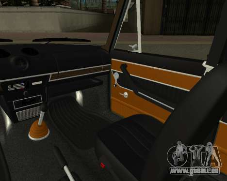 VAZ 2103 arménien pour GTA San Andreas salon