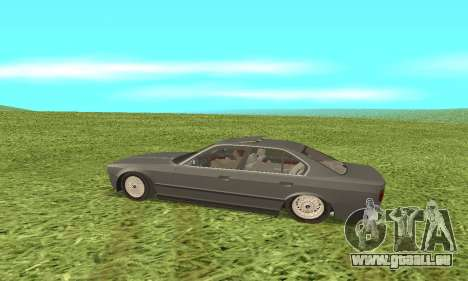 BMW 535i pour GTA San Andreas vue de droite