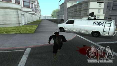 Newsvan Follow You für GTA San Andreas