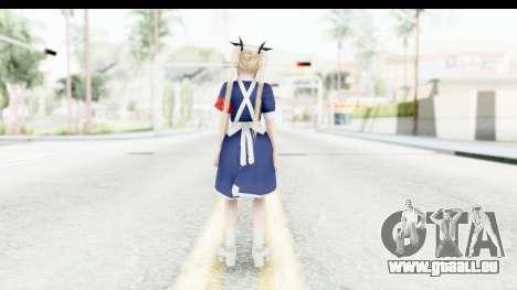 DoA 5: LR - Marie Rose Nurse v1 pour GTA San Andreas troisième écran
