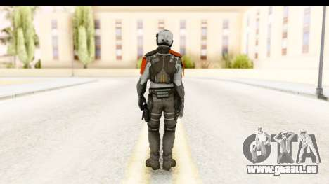 Homefront The Revolution - KPA v5 Original pour GTA San Andreas troisième écran