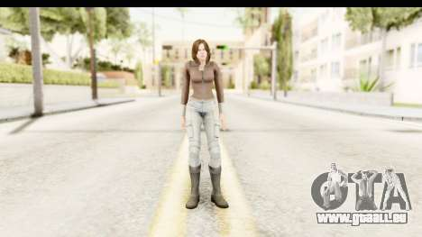 Helena Casual Skin für GTA San Andreas zweiten Screenshot