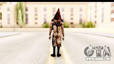 Silent Hill Downpour - Pyramid Head pour GTA San Andreas troisième écran