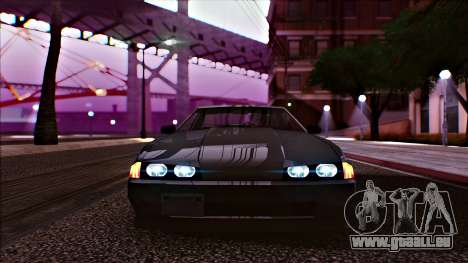 Elegy Drophead für GTA San Andreas zurück linke Ansicht