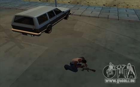 La Possession d'armes pour GTA San Andreas deuxième écran