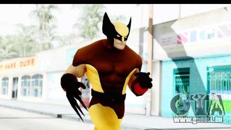 Marvel Heroes - Wolverine Brown für GTA San Andreas