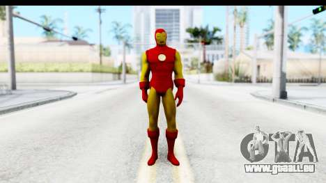 Marvel Heroes - Ironman für GTA San Andreas zweiten Screenshot