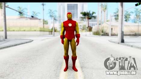 Marvel Heroes - Ironman für GTA San Andreas zweiten Screenshot