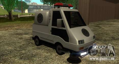 New Sweeper IVF pour GTA San Andreas