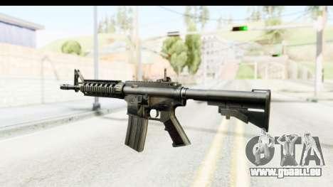 AR-15 pour GTA San Andreas deuxième écran