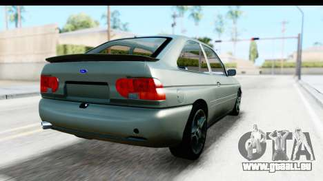 Ford Escort RS Cosworth 2016 für GTA San Andreas linke Ansicht