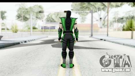Mortal Kombat vs DC Universe - Reptile pour GTA San Andreas troisième écran