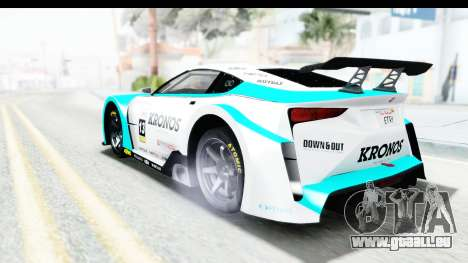 GTA 5 Emperor ETR1 v2 SA Lights pour GTA San Andreas moteur