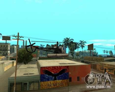 Grove Street Armenian Flag für GTA San Andreas her Screenshot