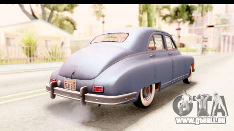 Packard Standart Eight 1948 Touring Sedan pour GTA San Andreas laissé vue