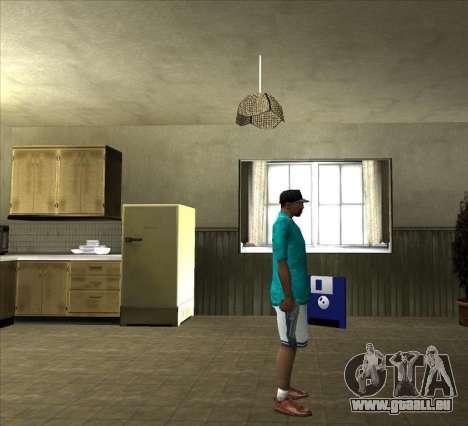 Chemise Tommy pour GTA San Andreas quatrième écran