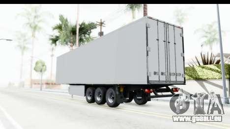 Trailer ETS2 v2 Old Skin 1 für GTA San Andreas linke Ansicht