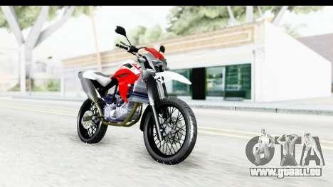Yamaha XT 660R für GTA San Andreas