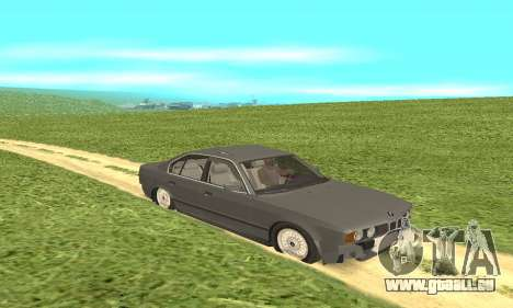 BMW 535i pour GTA San Andreas vue arrière