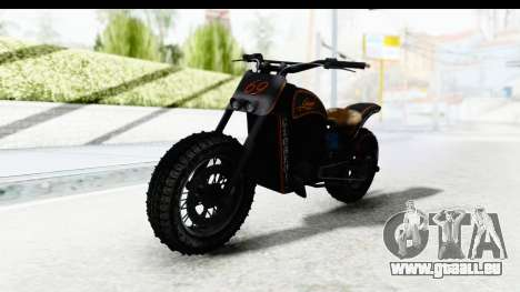 GTA 5 Western Gargoyle Custom v1 IVF pour GTA San Andreas vue de droite