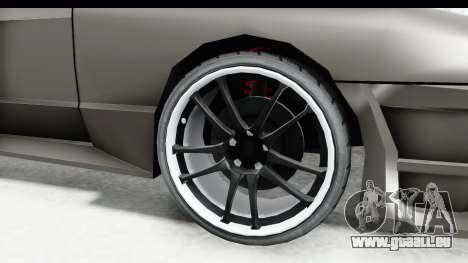 Elegy Sport Type v1 pour GTA San Andreas vue arrière