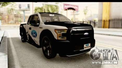 Ford F-150 Tuning für GTA San Andreas rechten Ansicht