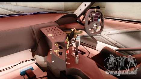 Nissan Sileighty 2015 D1GP für GTA San Andreas Innenansicht
