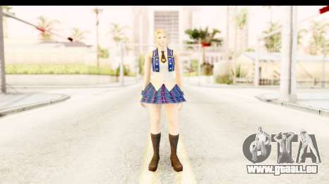 DoA 5 - Sarah Pop Idol für GTA San Andreas zweiten Screenshot